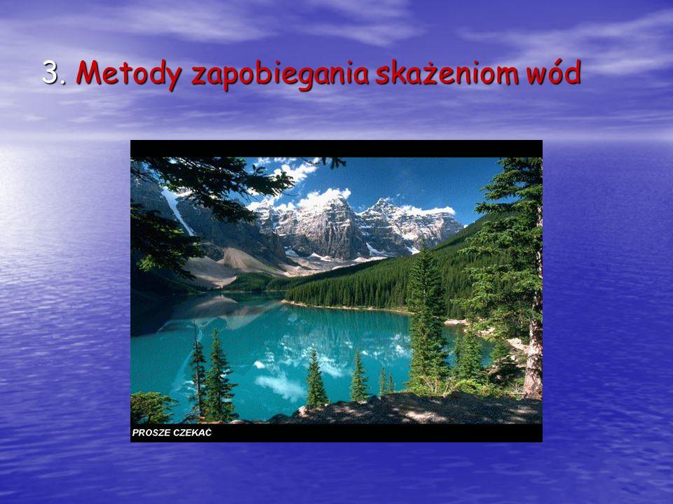 3. Metody zapobiegania skażeniom wód