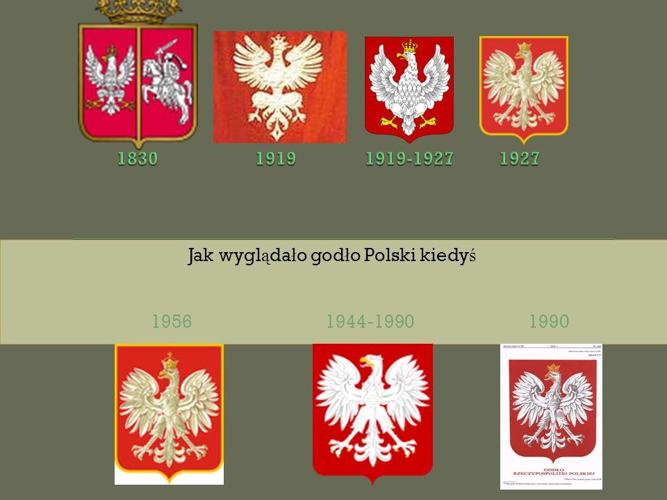 Jak wyglądało godło Polski kiedyś