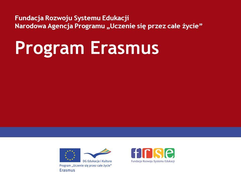 Program Erasmus Fundacja Rozwoju Systemu Edukacji