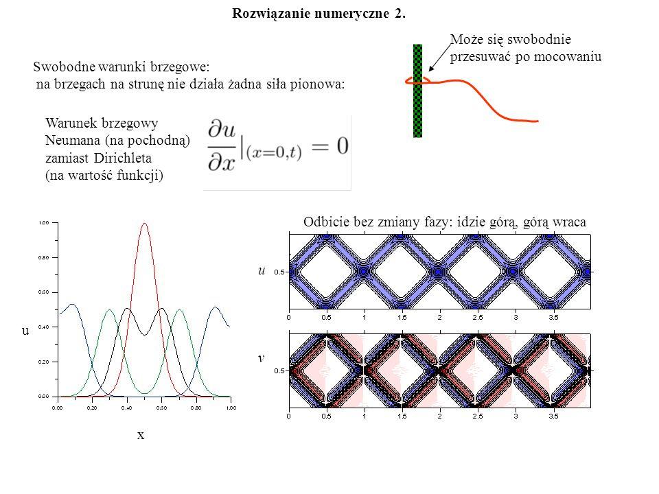 Rozwiązanie numeryczne 2.