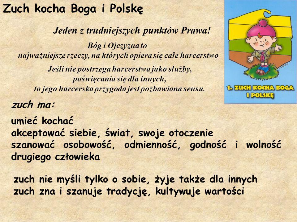 Zuch kocha Boga i Polskę