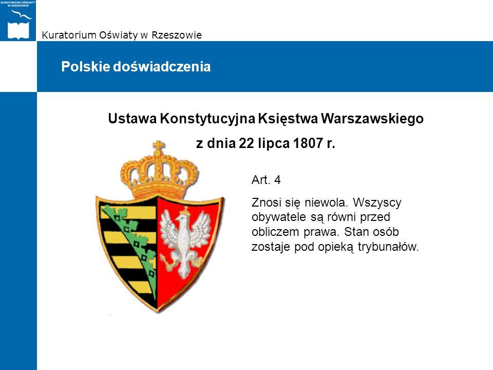 Ustawa Konstytucyjna Księstwa Warszawskiego