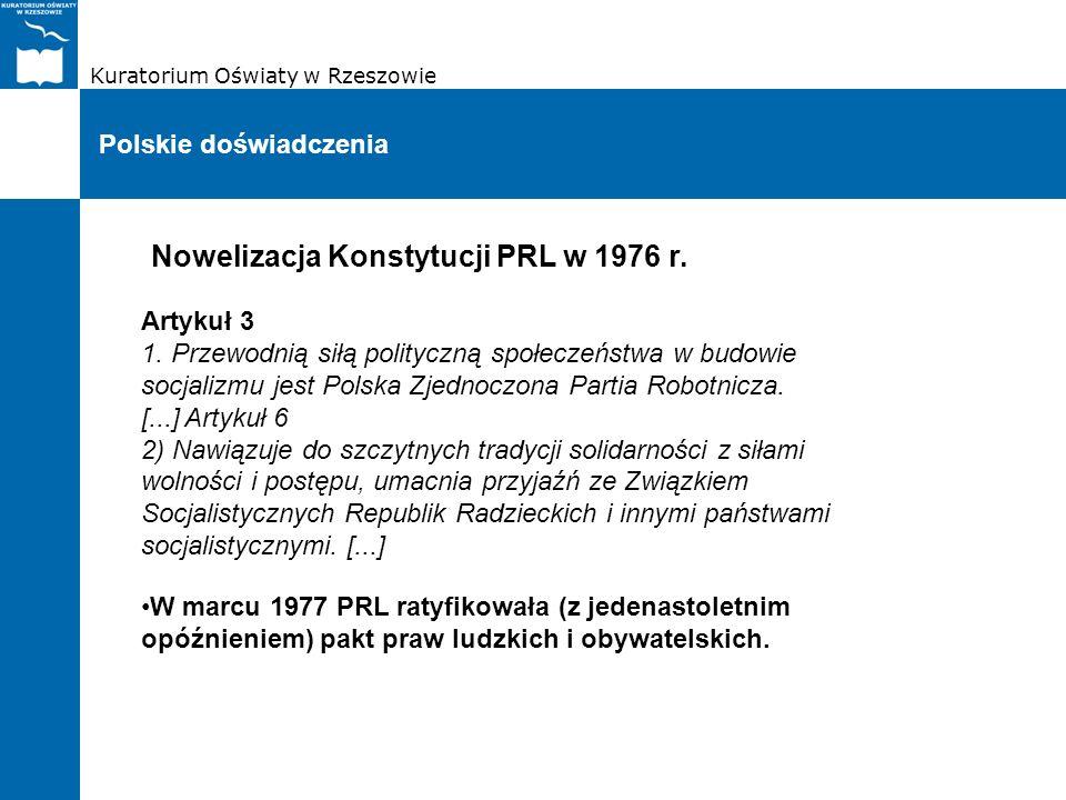 Nowelizacja Konstytucji PRL w 1976 r.