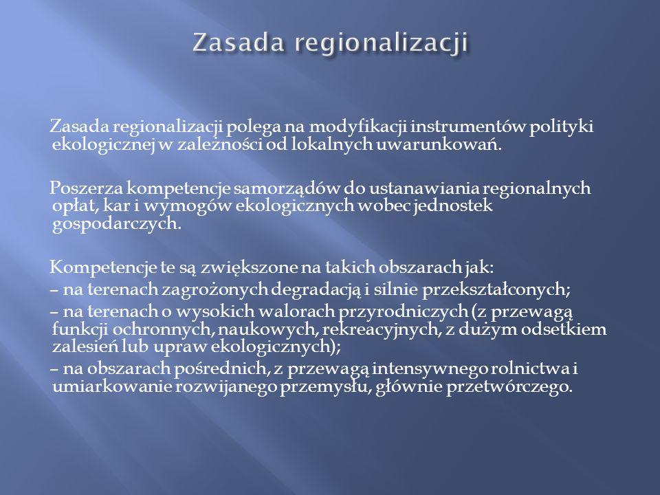 Zasada regionalizacji