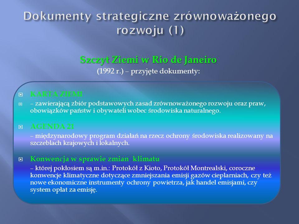 Dokumenty strategiczne zrównoważonego rozwoju (1)