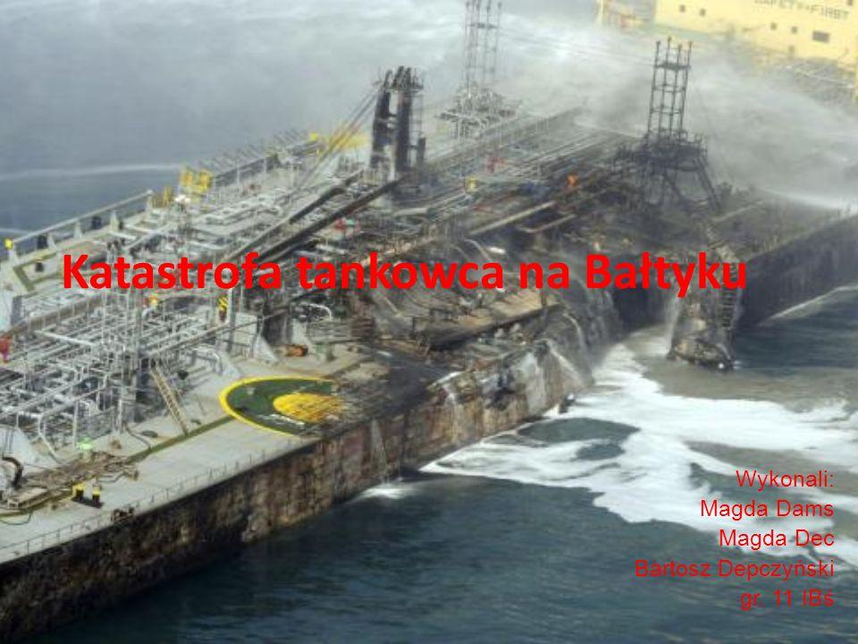 Katastrofa tankowca na Bałtyku