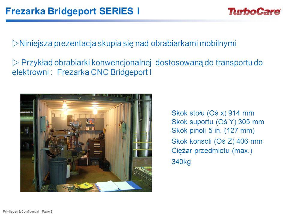 Frezarka Bridgeport SERIES I