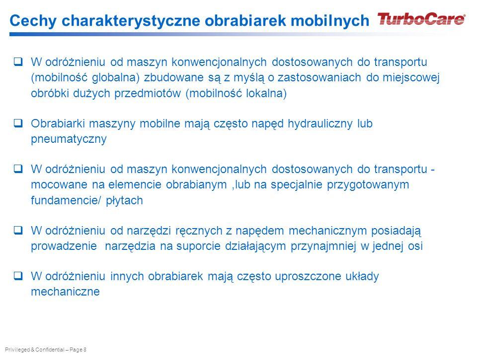 Cechy charakterystyczne obrabiarek mobilnych