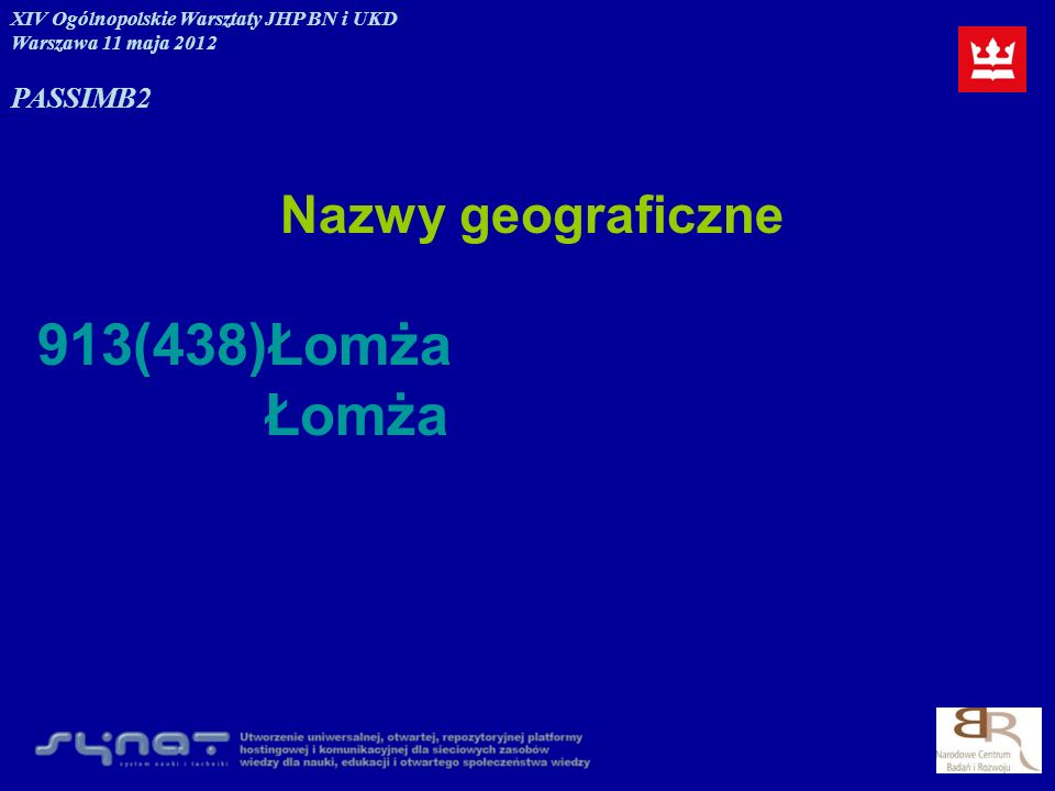 913(438)Łomża Łomża Nazwy geograficzne PASSIM B2