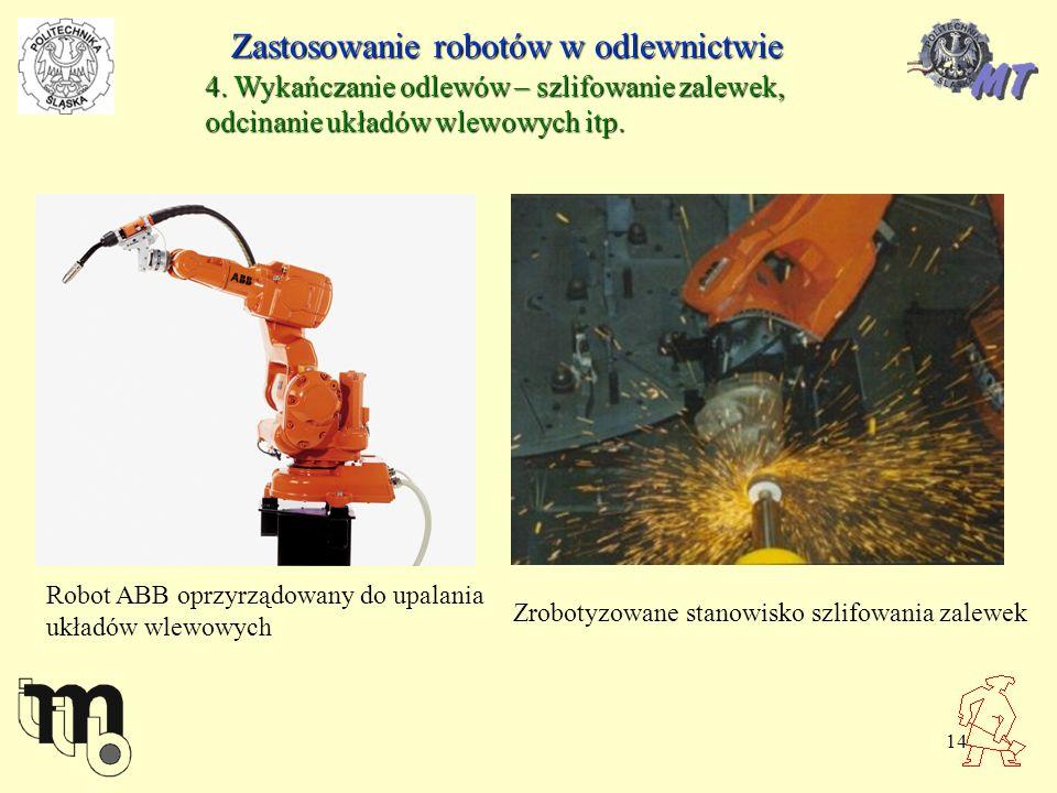 Zastosowanie robotów w odlewnictwie