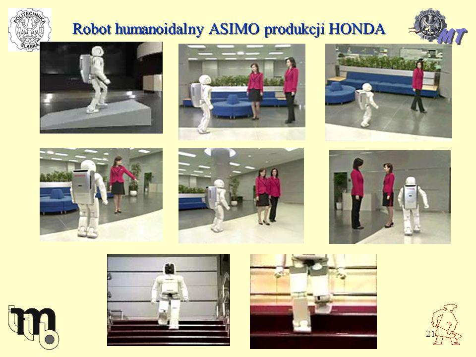 Robot humanoidalny ASIMO produkcji HONDA