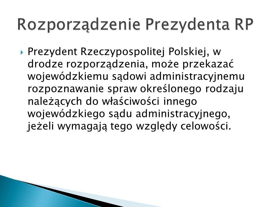 Rozporządzenie Prezydenta RP