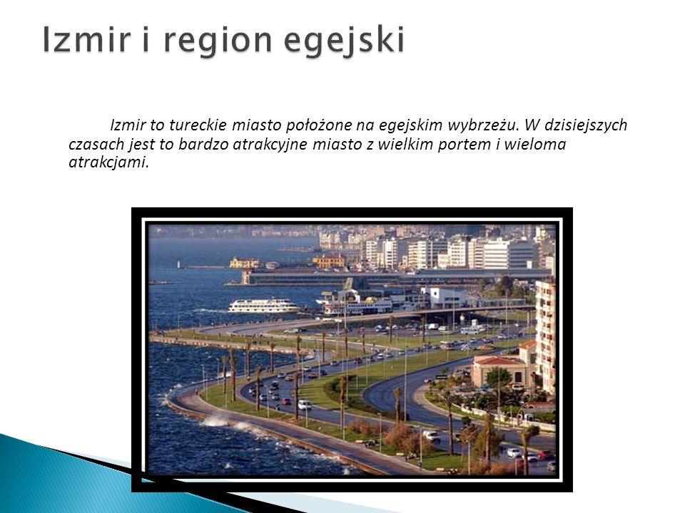 Izmir i region egejski