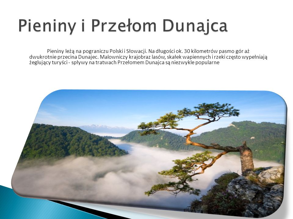 Pieniny i Przełom Dunajca