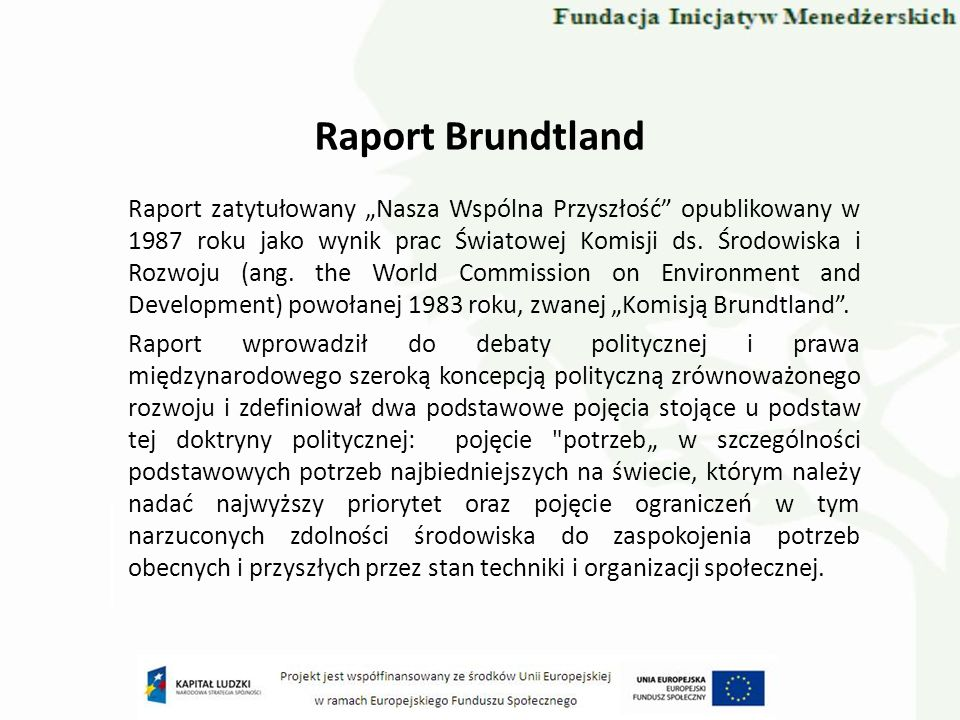 Raport Brundtland
