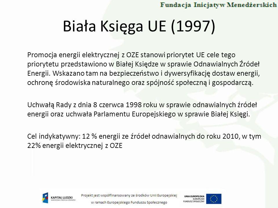Biała Księga UE (1997)