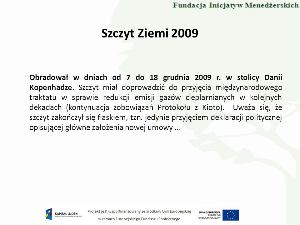 Szczyt Ziemi 2009