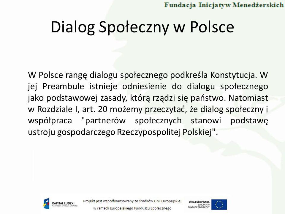 Dialog Społeczny w Polsce