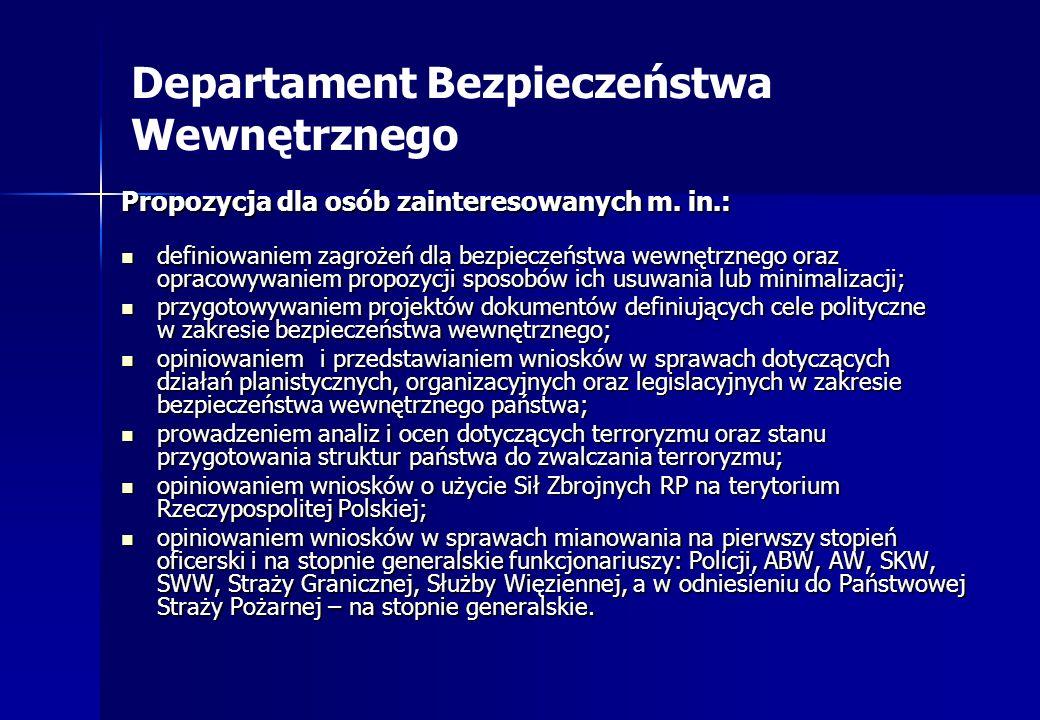 Departament Bezpieczeństwa Wewnętrznego