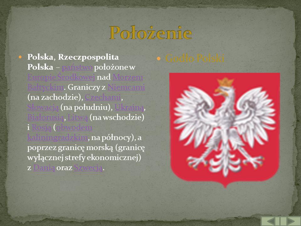 Położenie Godło Polski