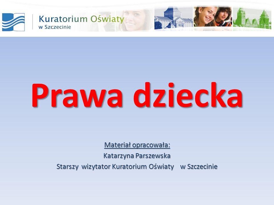 Starszy wizytator Kuratorium Oświaty w Szczecinie