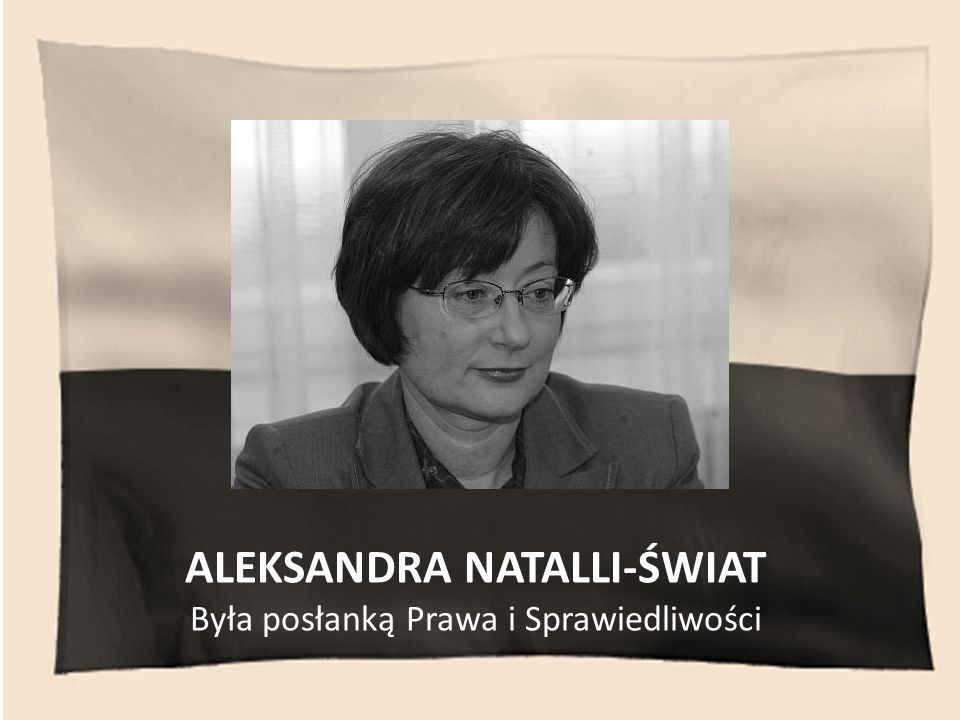 ALEKSANDRA NATALLI-ŚWIAT