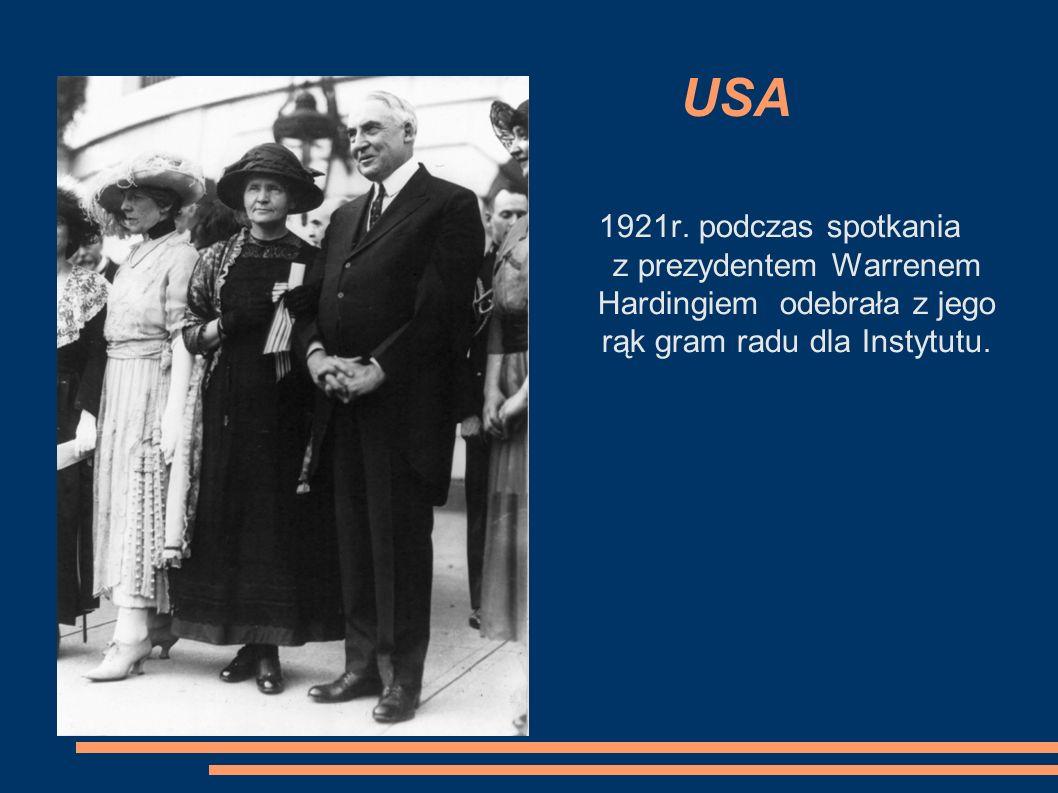 USA 1921r.