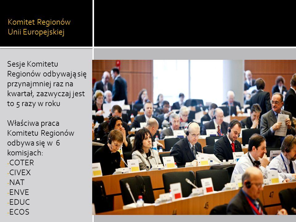 Komitet Regionów Unii Europejskiej