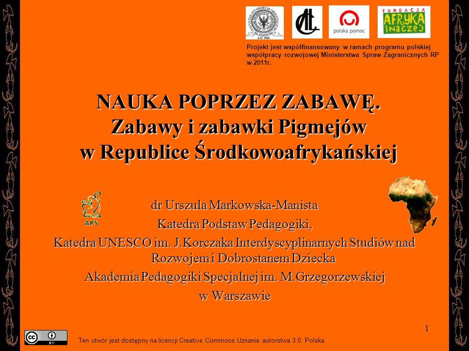 Projekt jest współfinansowany w ramach programu polskiej współpracy rozwojowej Ministerstwa Spraw Zagranicznych RP w 2011r.