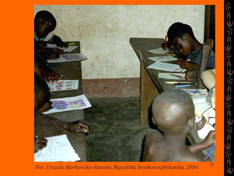 Fot. Urszula Markowska-Manista, Republika Środkowoafrykańska, 2004.
