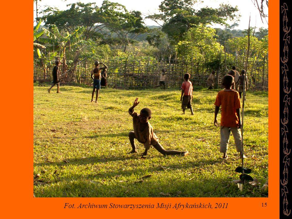 Fot. Archiwum Stowarzyszenia Misji Afrykańskich, 2011