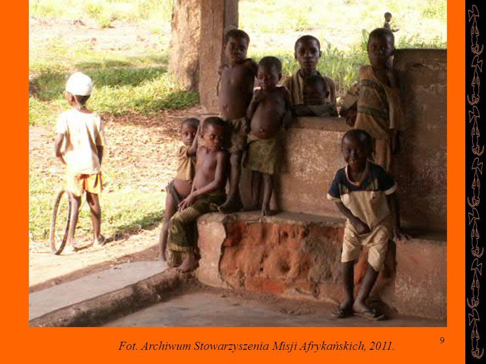 Fot. Archiwum Stowarzyszenia Misji Afrykańskich, 2011.
