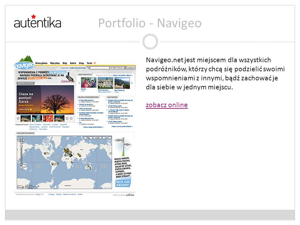 Portfolio - Navigeo