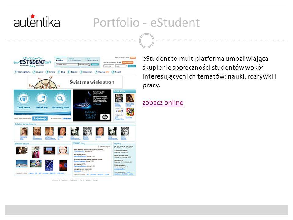 Portfolio - eStudent