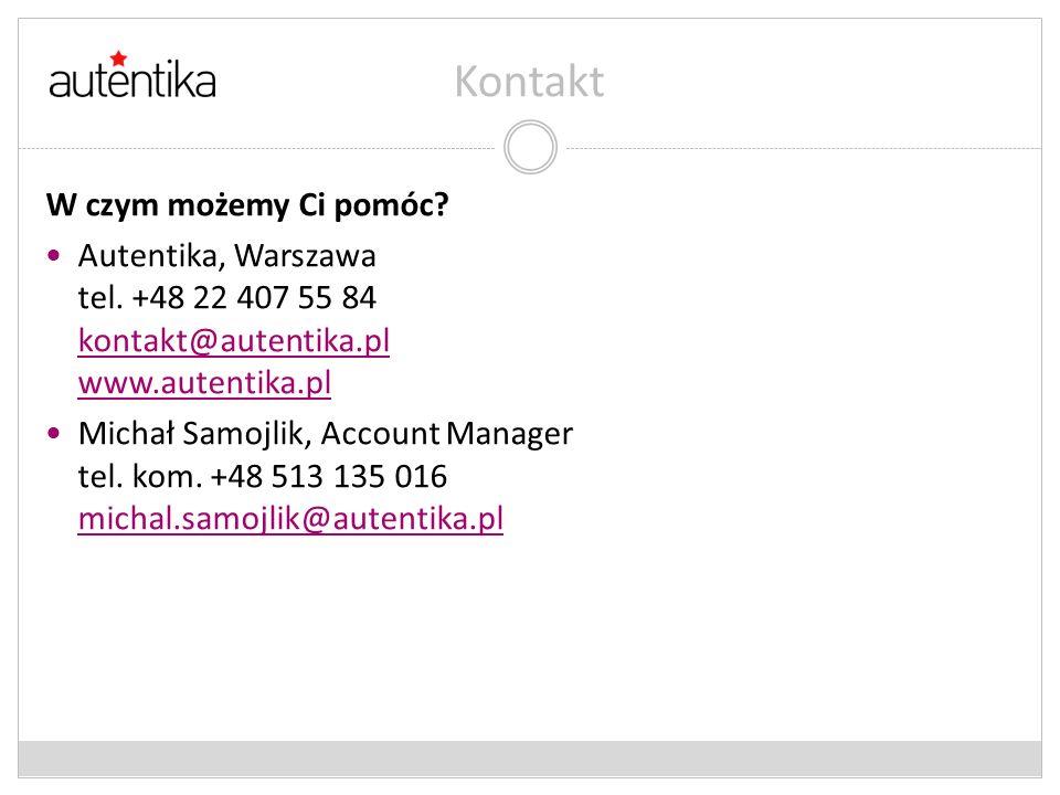 Kontakt W czym możemy Ci pomóc