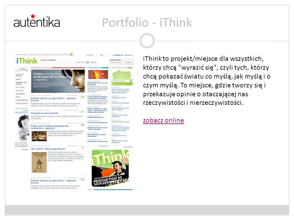 Portfolio - iThink