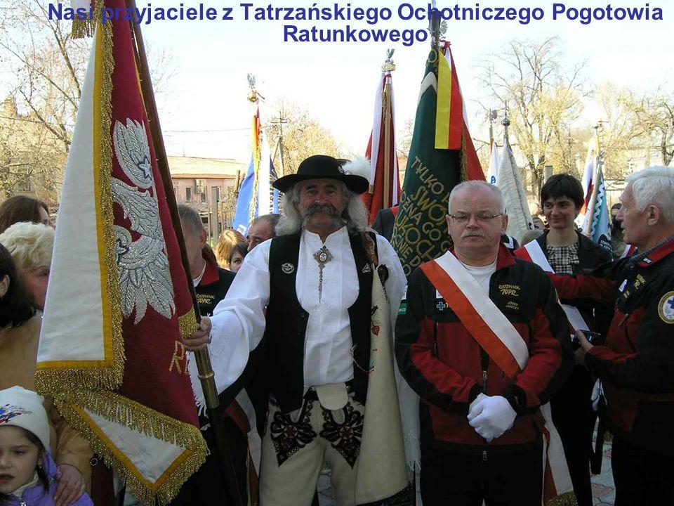 Nasi przyjaciele z Tatrzańskiego Ochotniczego Pogotowia Ratunkowego