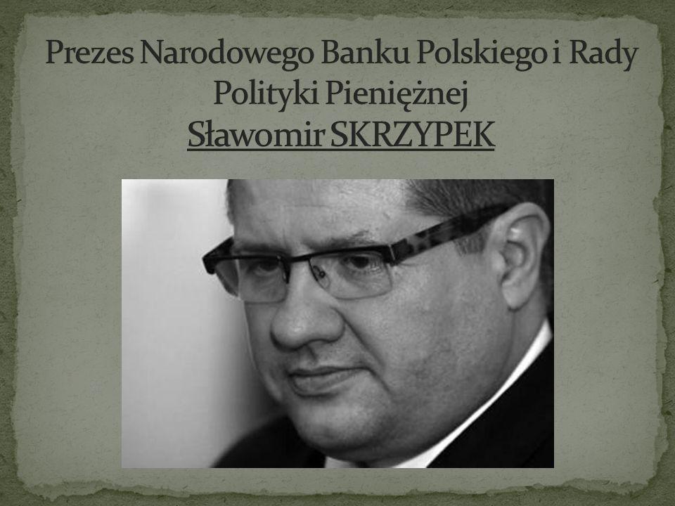 Prezes Narodowego Banku Polskiego i Rady Polityki Pieniężnej Sławomir SKRZYPEK