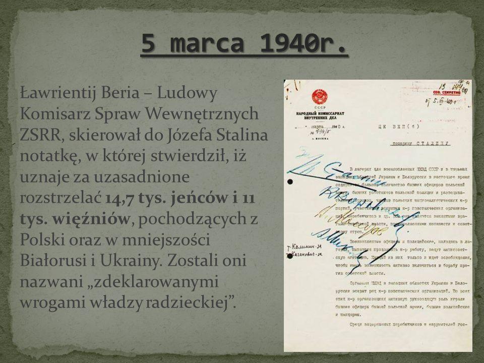 5 marca 1940r.