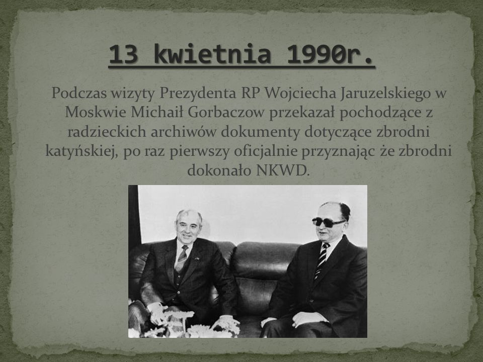 13 kwietnia 1990r.