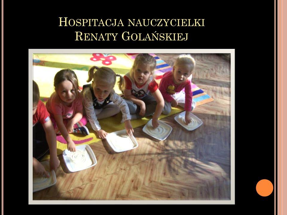 Hospitacja nauczycielki Renaty Golańskiej