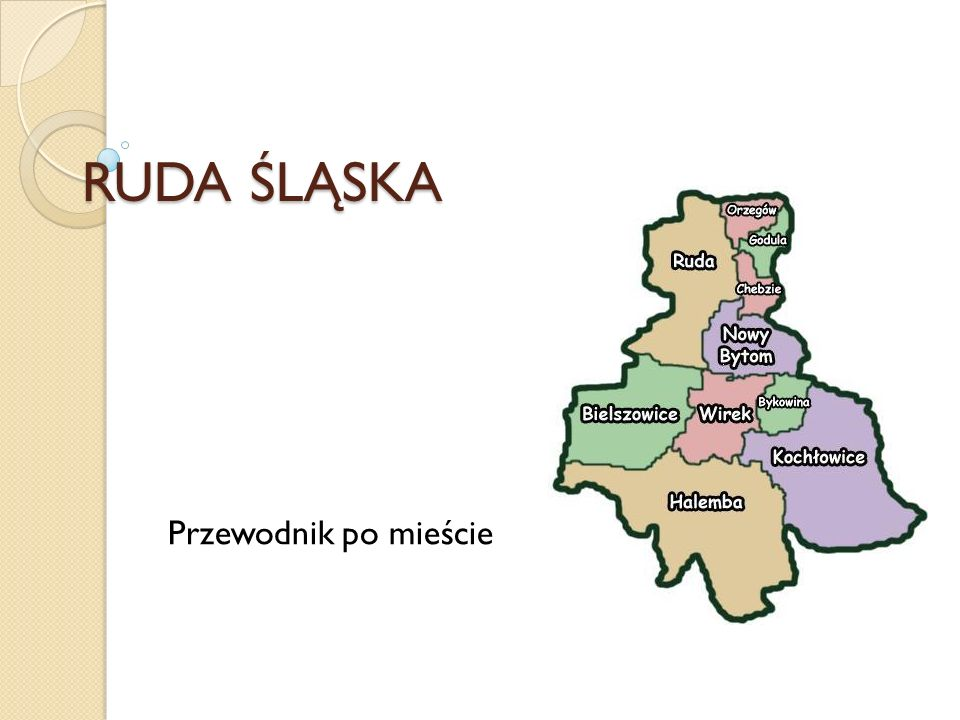 RUDA ŚLĄSKA Przewodnik po mieście