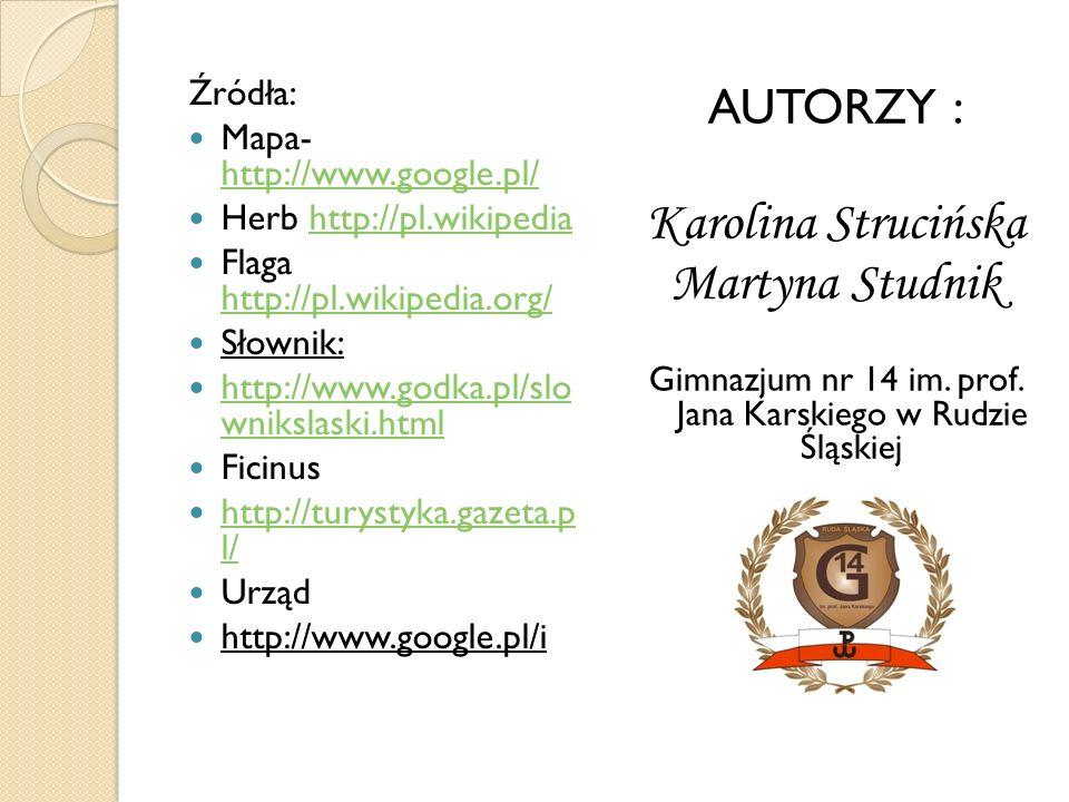 Gimnazjum nr 14 im. prof. Jana Karskiego w Rudzie Śląskiej