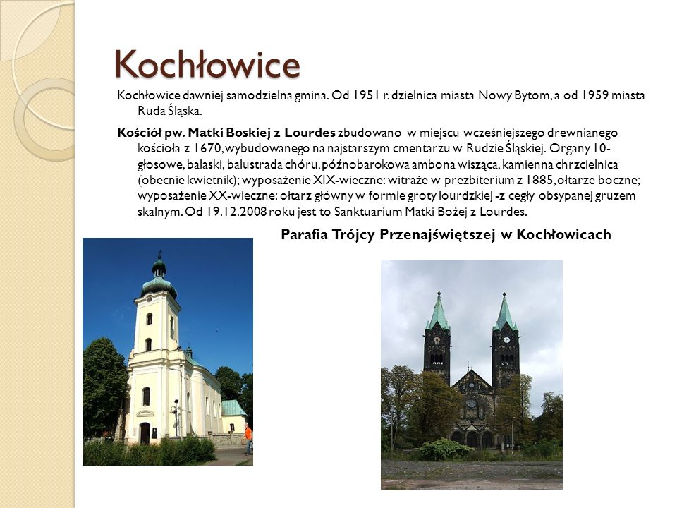 Parafia Trójcy Przenajświętszej w Kochłowicach