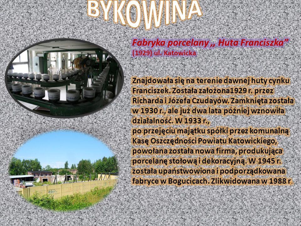 BYKOWINA Fabryka porcelany ,, Huta Franciszka