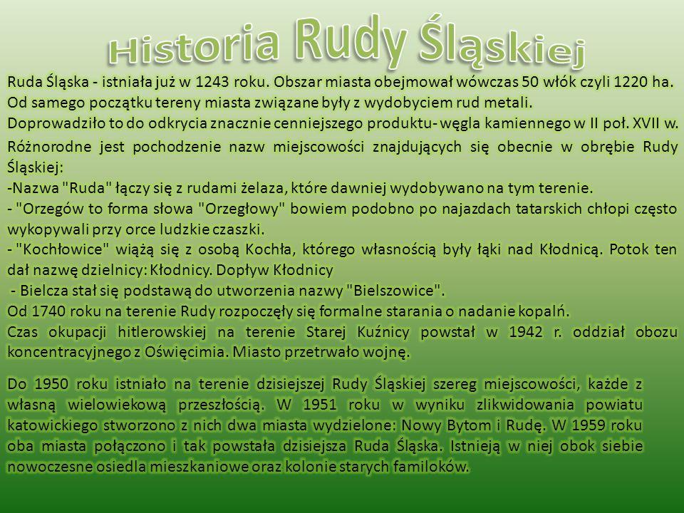 Historia Rudy Śląskiej