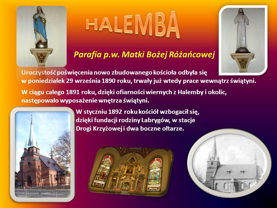 HALEMBA Parafia p.w. Matki Bożej Różańcowej