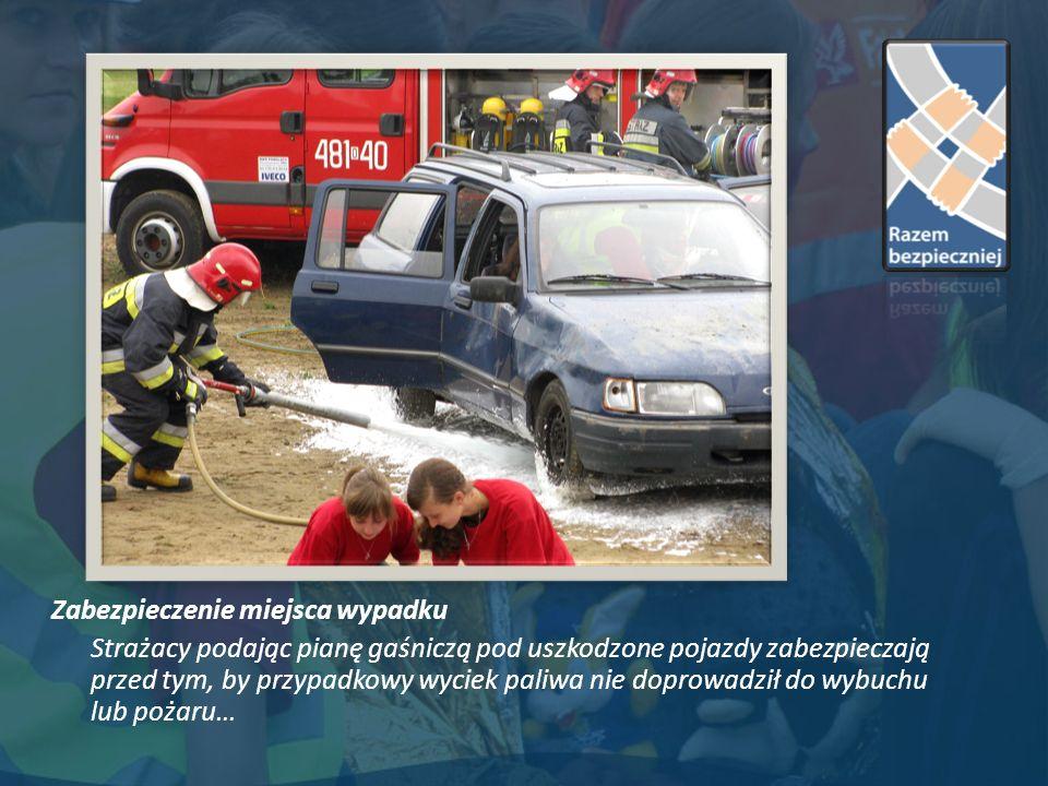 Zabezpieczenie miejsca wypadku