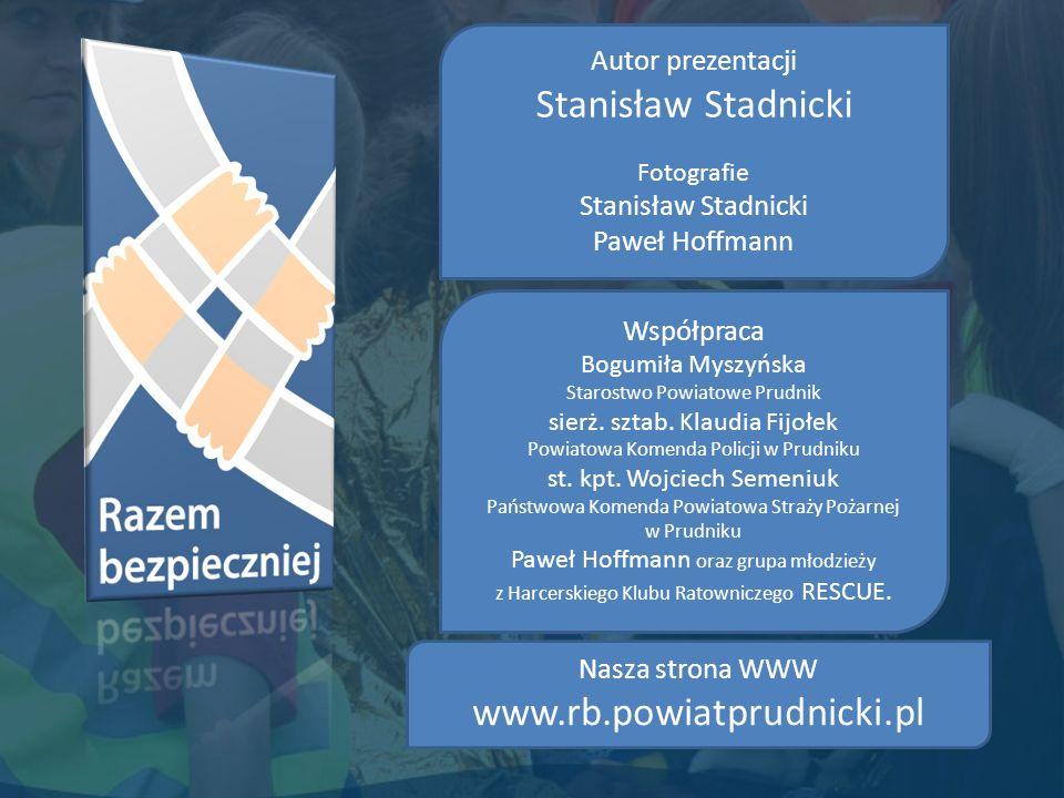 Stanisław Stadnicki www.rb.powiatprudnicki.pl Autor prezentacji