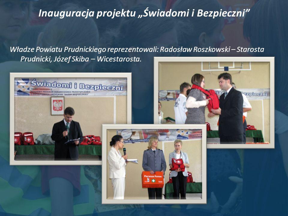 """Inauguracja projektu """"Świadomi i Bezpieczni"""